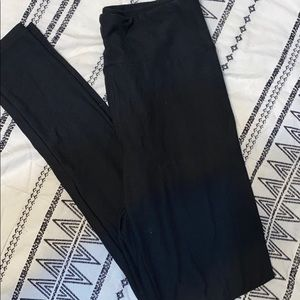 Lularoe Black Leggings OS